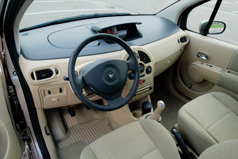 renault modus 1 4 16v privil ge luxe 2005 autotests. Black Bedroom Furniture Sets. Home Design Ideas