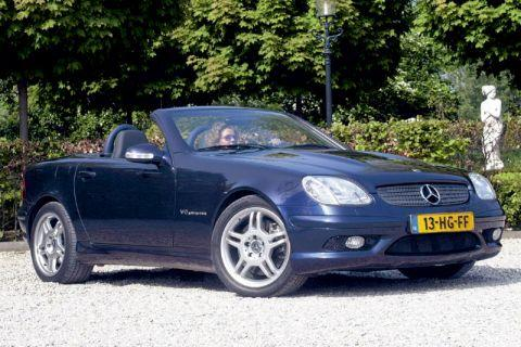 autotest mercedes benz slk 32 amg. Black Bedroom Furniture Sets. Home Design Ideas
