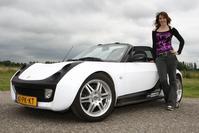 Klokje rond Smart Roadster
