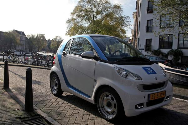 Smart Car2Go Berlijn