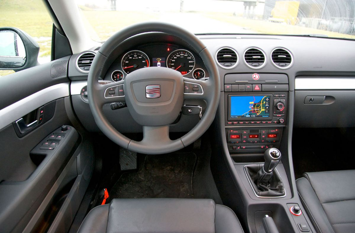 seat exeo st 1 8 tsi 160pk businessline high 2011 autotests. Black Bedroom Furniture Sets. Home Design Ideas