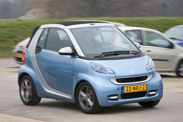 Smart fortwo cabrio MHD edition lightshine 52kW