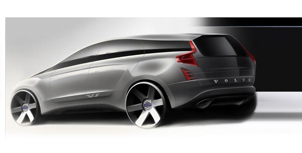 Ontwerpvoorstel Volvo XC90