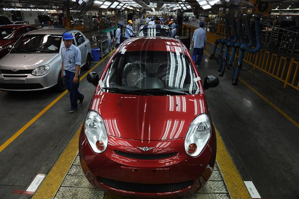 Chery-fabriek in Wuhu | Foto: ANP/AFP