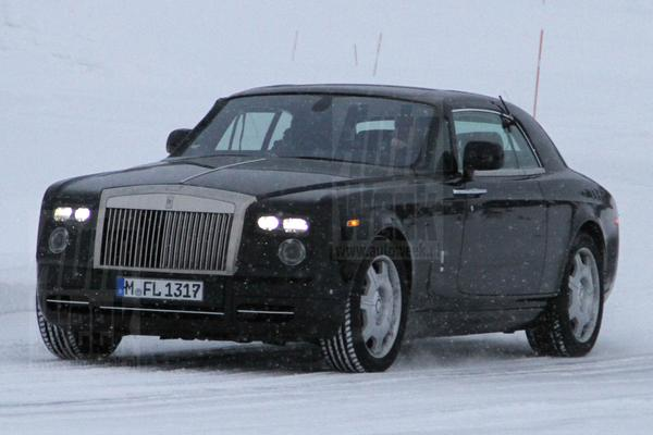Rolls-Royce Phantom facelift