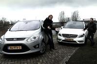 Mercedes B-klasse vs Ford C-Max