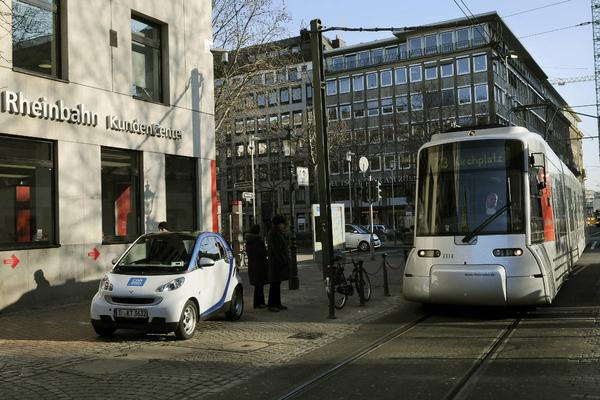 Car2Go in D�sseldorf