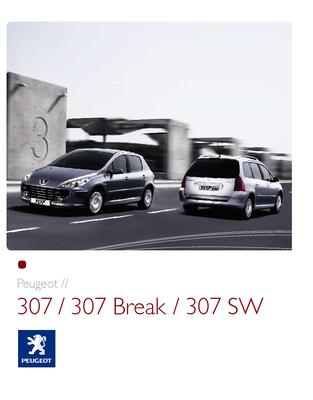 Brochure Peugeot 307 (2007)