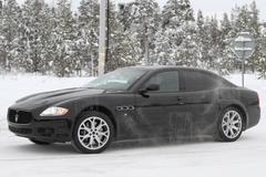 Druk bezig met de Maserati Quattroporte