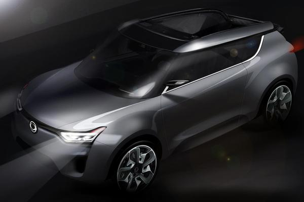 SsangYong XIV-2 concept car