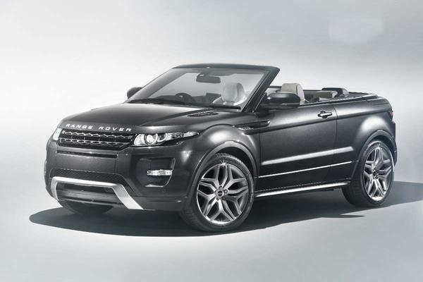 Land Rover Evoque Convertible Concept