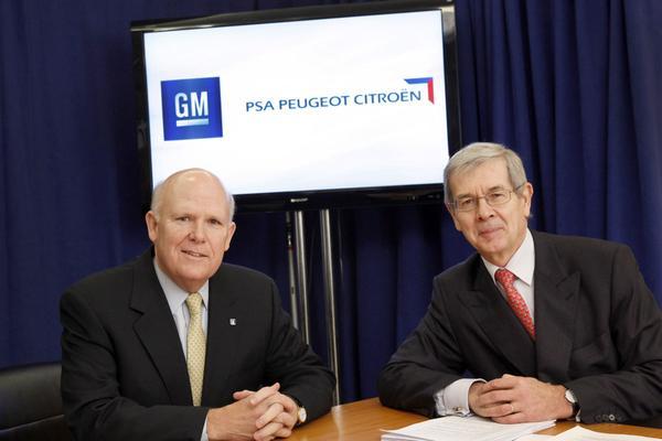 Alliantie GM en PSA