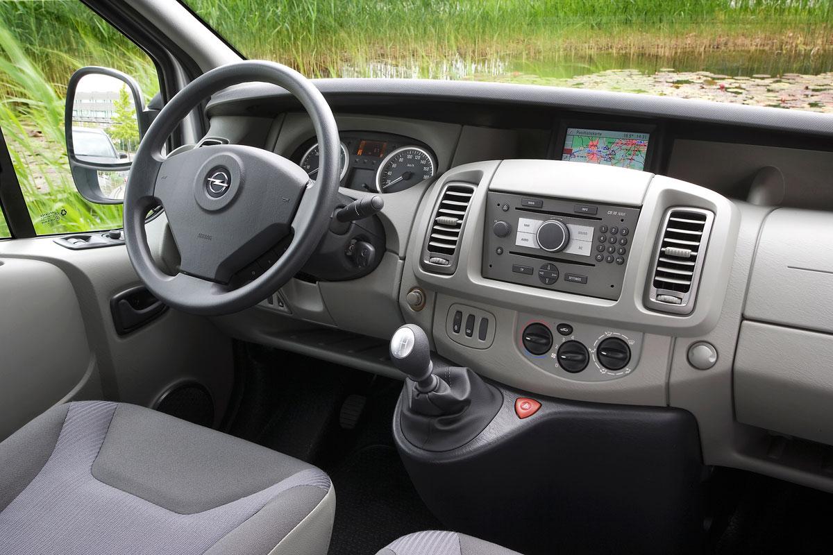 Opel vivaro l1h1 2700 2 0 cdti 114 ecoflex specificaties for Interieur opel vivaro 9 places