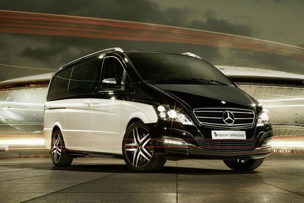 Mercedes Viano Diamond Edition