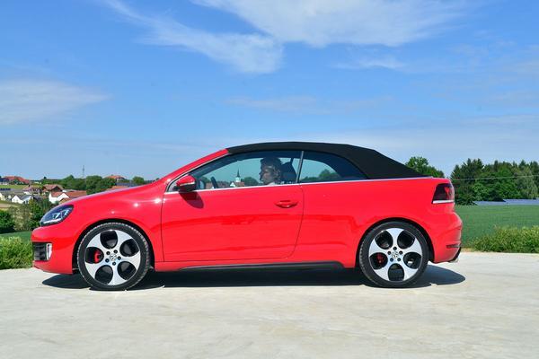 Rij-impressie Volkswagen Golf GTI Cabrio