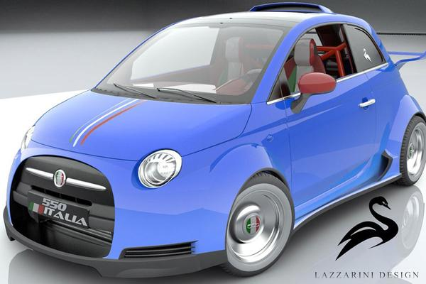 Fiat 500 Lazzarini Design