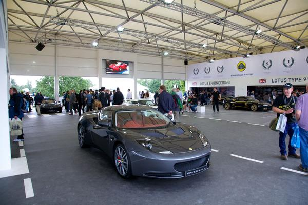 Lotus op Goodwood