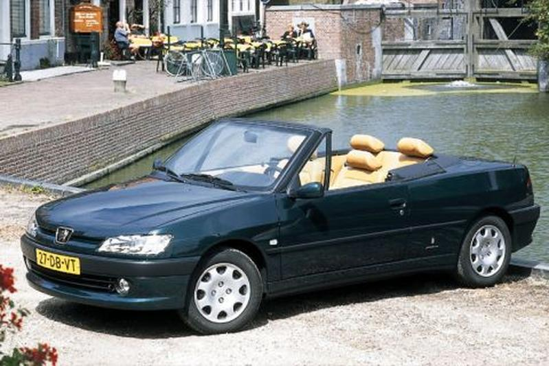 peugeot 306 cabriolet 1 6 1999 autotests. Black Bedroom Furniture Sets. Home Design Ideas