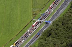 File bij Vianen A27 | Foto: ANP