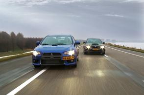Subaru WRX STi vs Mitsubishi Lancer Evolution X