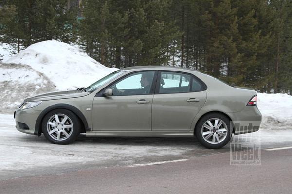 Saab 9-3 Mule