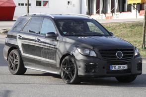 Nieuwe Mercedes ML 63 AMG toont spieren
