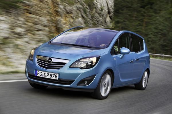 Autotest Opel Meriva 1.3 CDTI EcoFlex - AutoWeek.nl