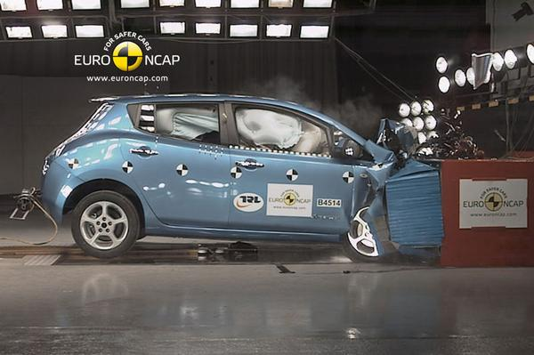 Nissan Leaf NCAP crashtest