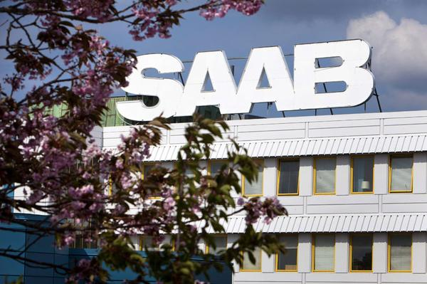 Saab-fabriek in Trollh�ttan