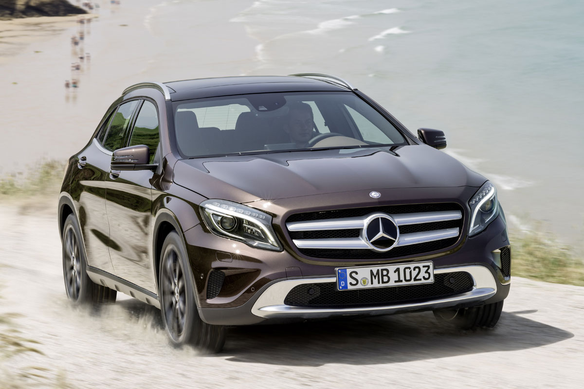 mercedes benz gla nieuw jan 39 17 facelift. Black Bedroom Furniture Sets. Home Design Ideas