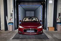 Tesla assemblage Tilburg (foto ANP)