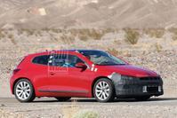 Volkswagen Scirocco spyshots