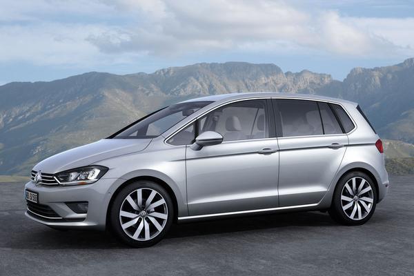 volkswagen sportsvan is nieuwe golf plus autonieuws. Black Bedroom Furniture Sets. Home Design Ideas