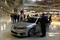 NEVS pre-productie Saab 9-3