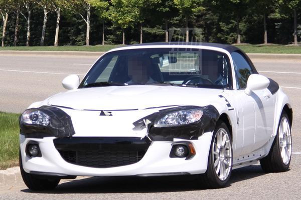 Mazda MX-5 mule