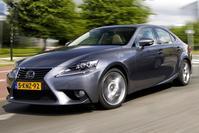 Lexus IS tikt 1 miljoen stuks aan