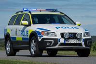 Volvo XC70 Politie