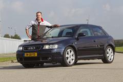 Op de rollenbank - Audi S3