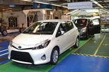 2,5 miljoenste Toyota Yaris uit Frankrijk