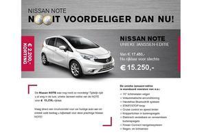 Nissan Note Janssen-edition