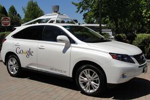 Zelfrijdende auto Google kan snelheid overtreden