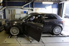 Op de rollenbank - Audi A3