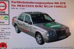 Partikelfilter Mercedes-Benz E-klasse W124