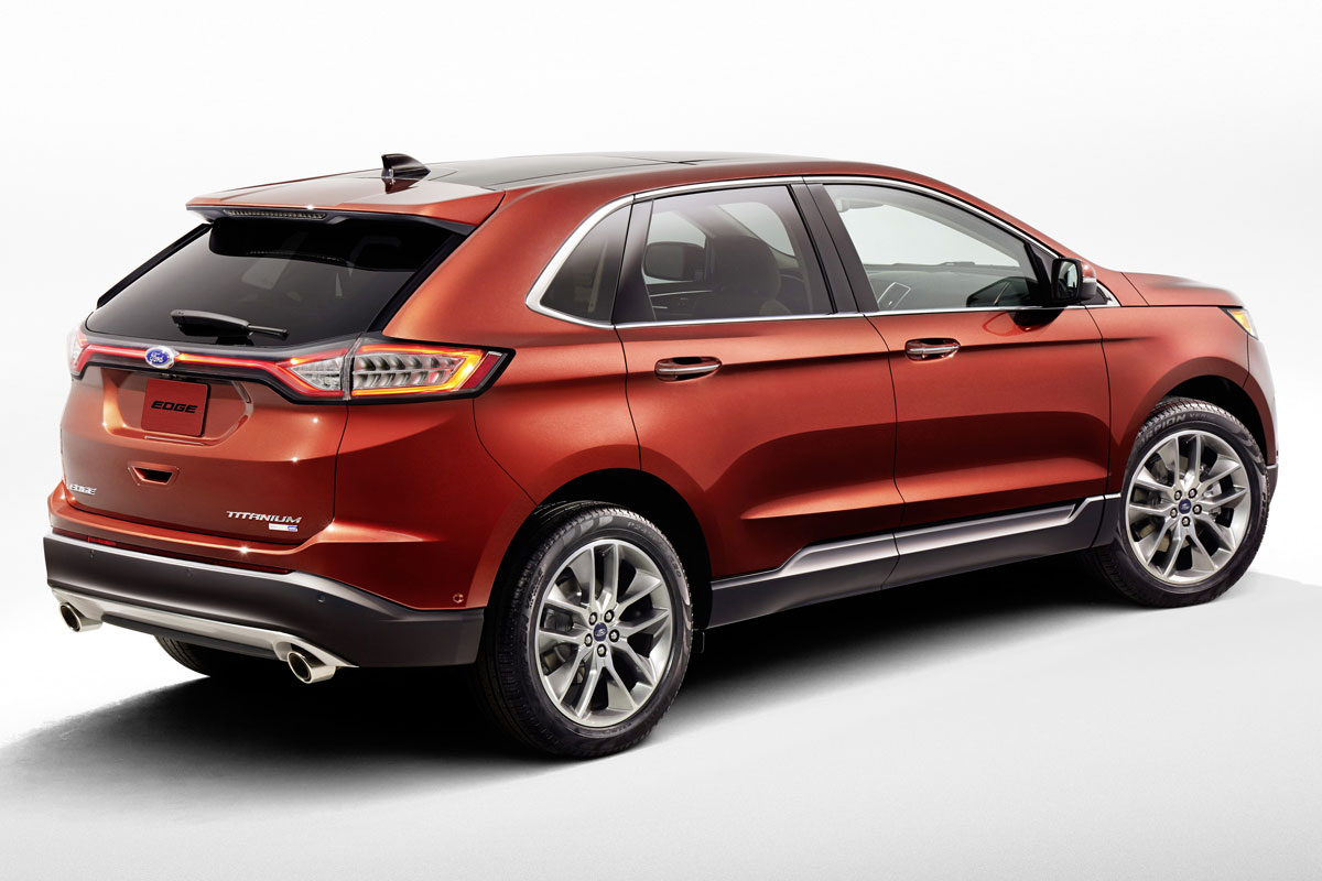 All new 2015 edge showcases ford s best technology more driver assist features improved performance craftsmanship