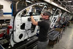 Nissan Qashqai productielijn Sunderland