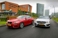 Dubbeltest - BMW M235i vs Mercedes CLA 45 AMG