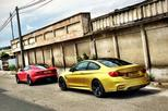 Dubbeltest - BMW M4 vs Jaguar F-Type