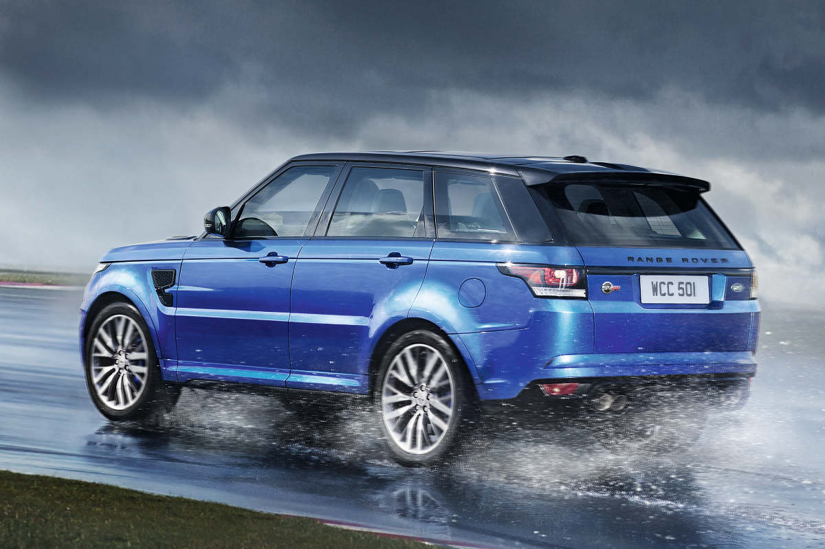 range rover sport svr in volle glorie autonieuws. Black Bedroom Furniture Sets. Home Design Ideas