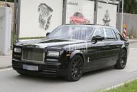 Rolls-Royce Phantom mule spyshot