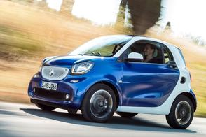 Smart prijst Fortwo met 90 pk